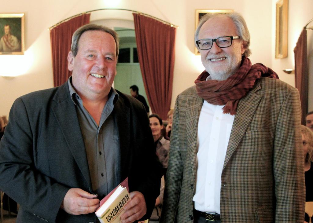 Dr. Karl Isak und Stadtrat Norbert Pay